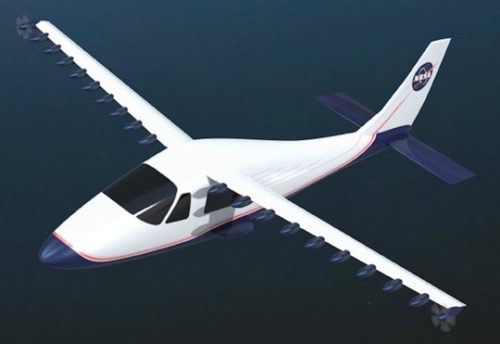 Motor listrik jadi pengganti teknologi mesin turbin dan mesin bakar pesawat saat ini