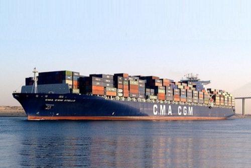 Kapal CGA-CGM Otello.