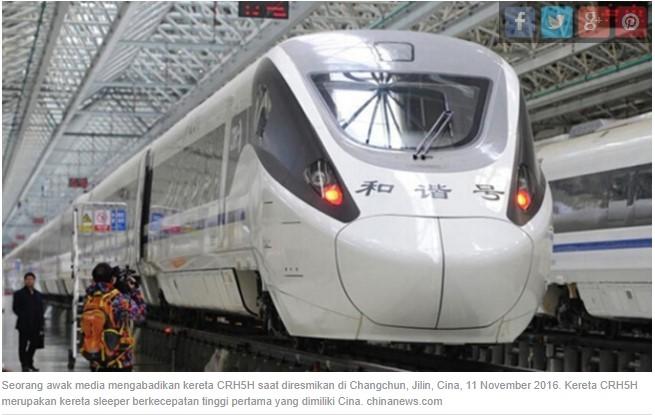 Pembangunan Konstruksi Jalur KA Cepat Bandung-Jakarta Dimulai