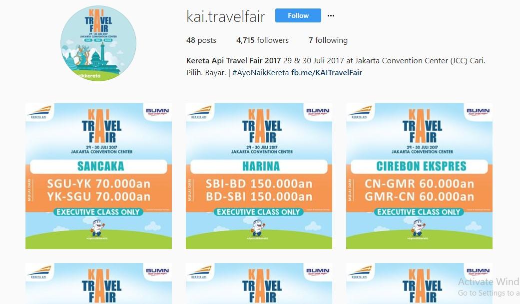 KAI Travel Fair Diskon Tiket Kereta Hingga 72%