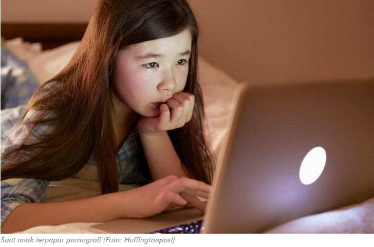 6 Langkah Saat Pergoki Anak Terpapar Konten Pornografi