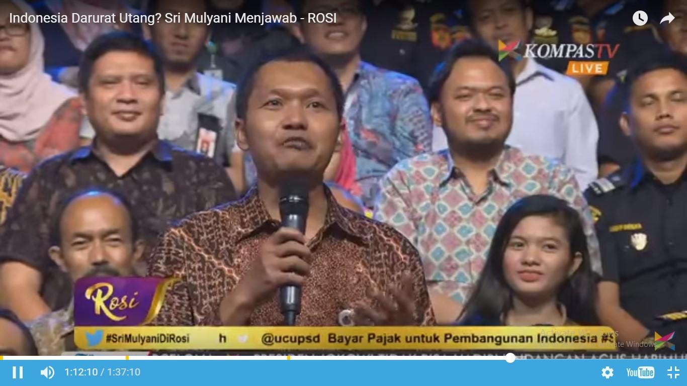 Utang Indonesia Tak Ada Artinya Dibanding Kekayaannya