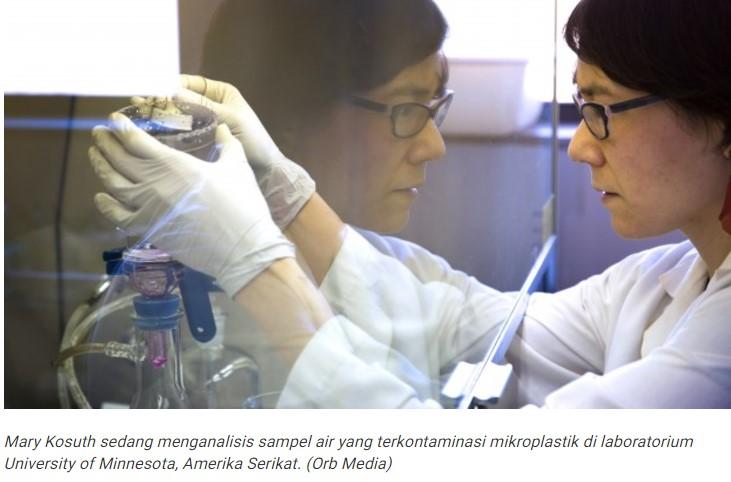 Waspada, Pencemaran Mikroplastik Ada di Mana Saja