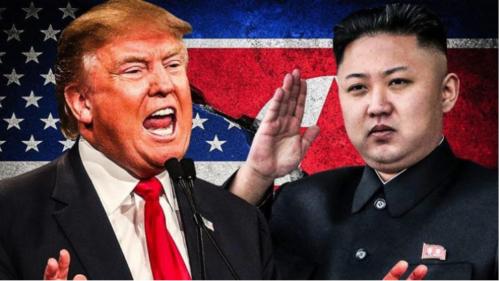 Donald Trump dan Kim Jong-un. (trofire.com)