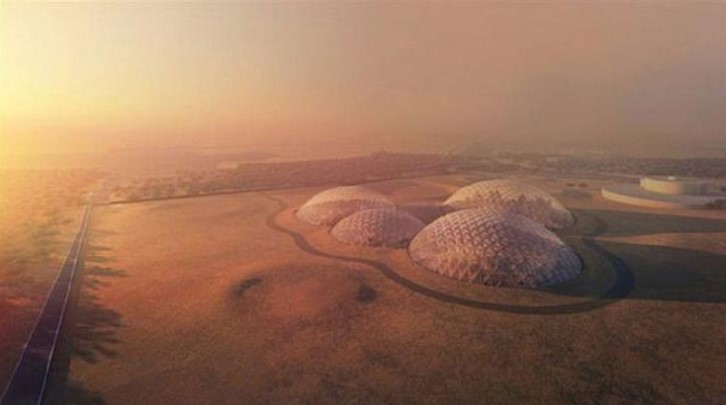 UEA dan China Bangun Pusat Simulasi Koloni Mars