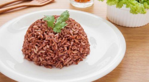 Ilustrasi nasi merah. (shutterstock.com)