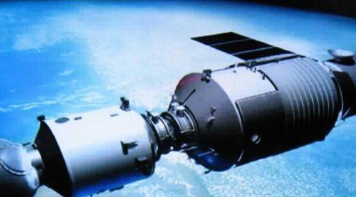 Stasiun Antariksa 8,5 Ton Milik Cina Jatuh ke Bumi Oktober-April Tiangong 1. (Independent)